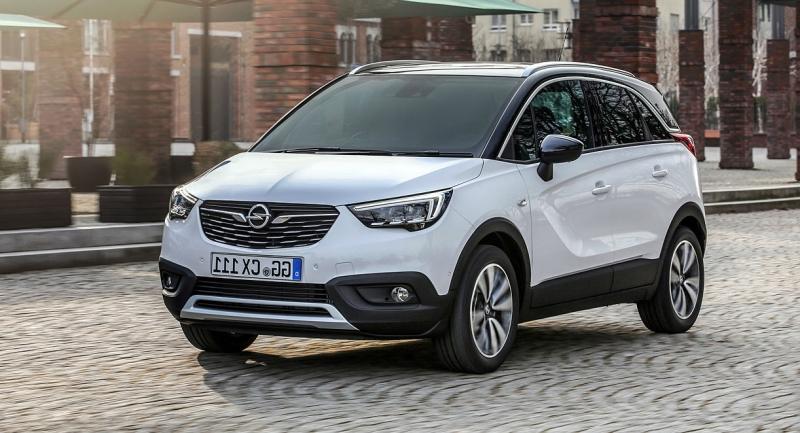Opel crossland leasing