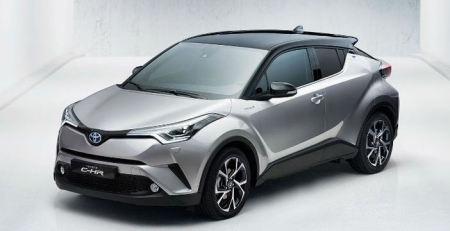 Toyota C-HR 1.2 Turbo 85kW/ 116k 6M/T benzín Active