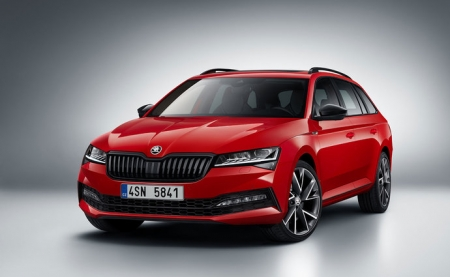 Nová ŠKODA Superb Combi 1.5 TSI ACT 110kW / 150k 6°MP Active