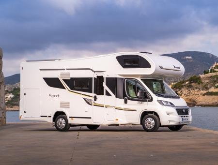 Karavan Benimar Sport 346 (2020) motor 2.3 140k 6st manuál